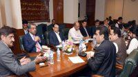 CM sindh chairs meeting on rains