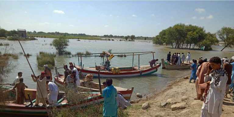 four missing as boat capsized in river Indus