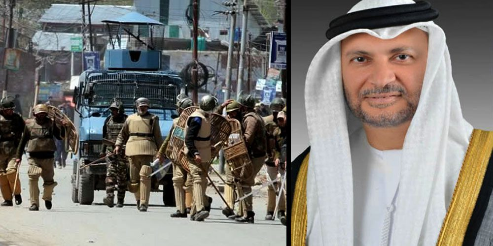 UAE expresses concern over Kashmir