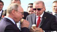 Putin buys ice cream to Erdogan