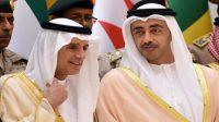 Foreign ministers of UAE and Saudi Arabia
