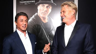 Dolph Lundgren and Sylvester Stallone
