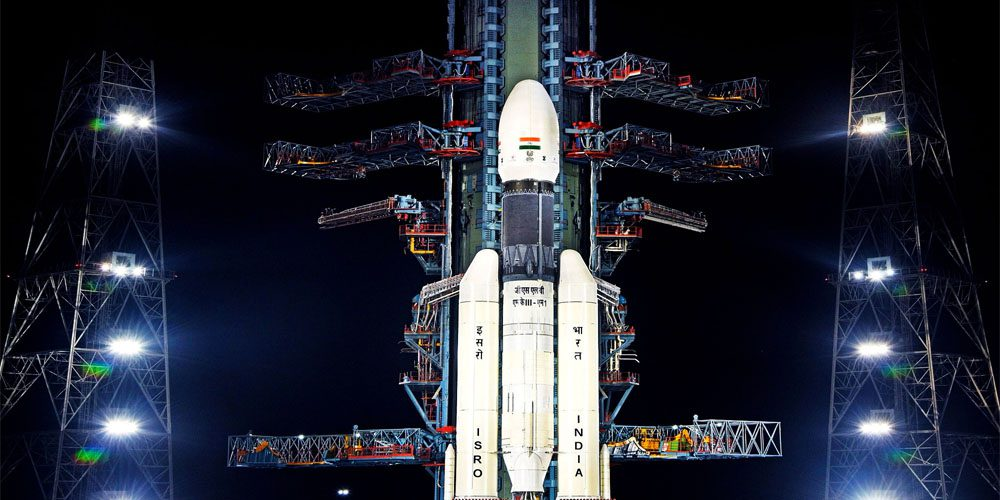 Indian historic moon mission