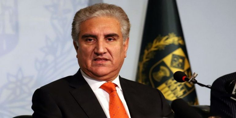 Shah Mehmood Qureshi urges to lift curfew from IoK