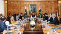 President meets Turkish delegation on Friday