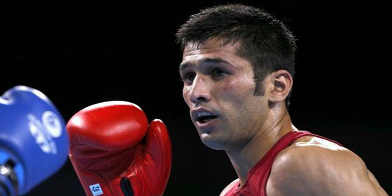 Pakistani boxer