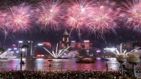 Spectacular rehearsal for China's National Day Celebrations