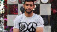 Pakistani- British boxer Amar Khan