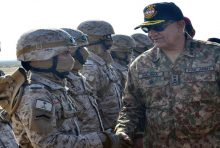 COAS visited strike corps to witness training exercise