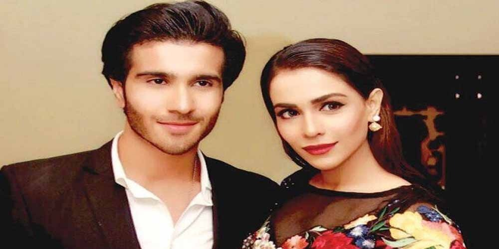 Feroze Khan gets wishes from his sister for new journey