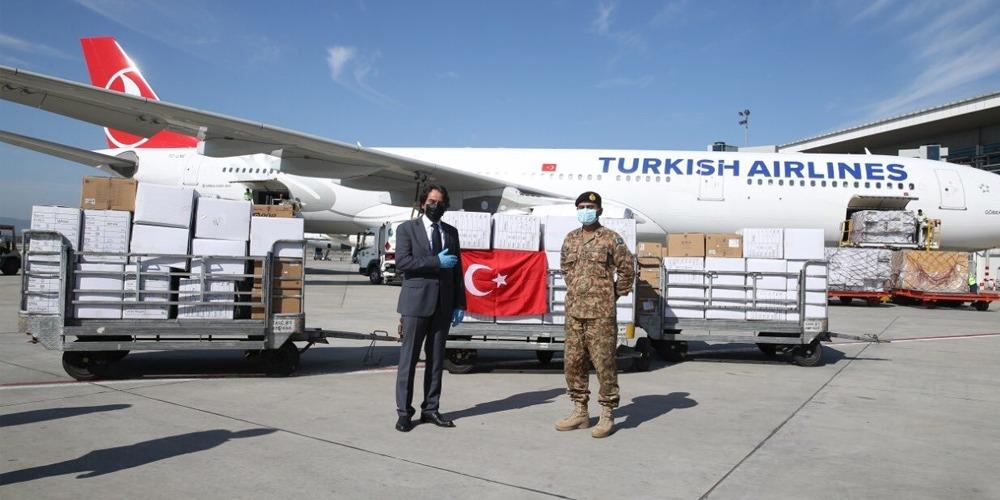 Turkey sends 20K N95 masks, 18.5K PPE/gown to Pakistan