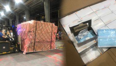 Coronavirus: US purchased 1 million masks from China for Israel