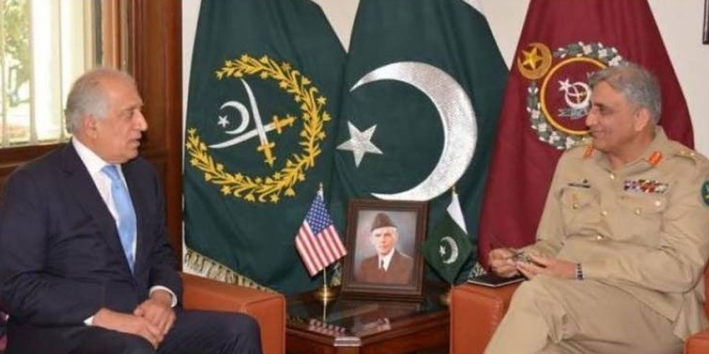 COAS calls on Afghanistan Reconciliation Ambassador Khalilzad, General Miller